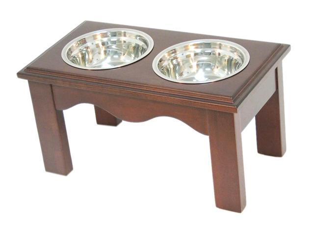 Crown Pet Home Indoor Diner, Medim size, with Espresso Finish