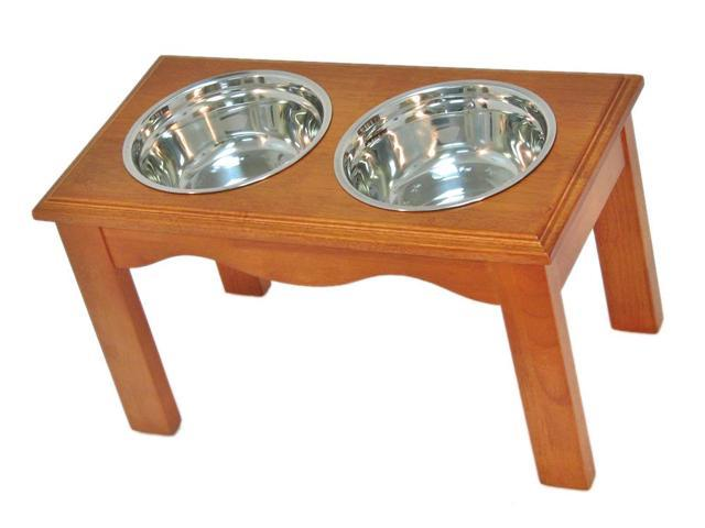 Crown Pet Home Indoor Diner, Large size, with Chestnut Finish