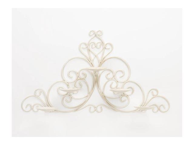 Koehler Home Kitchen Decorative Gift Vintage Scrollwork Wall Sconce