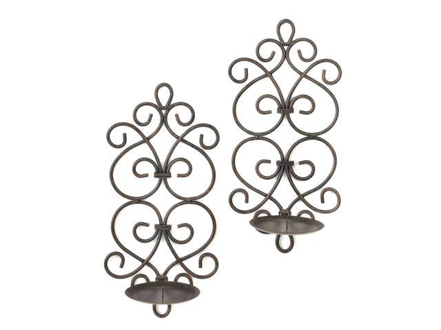 Koehler Home Kitchen Decorative Gift Burgeon Wall Sconce Set