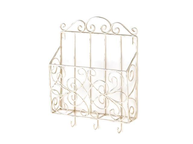 Koehler Home Kitchen Decorative Gift Cottage Charm Wall Rack