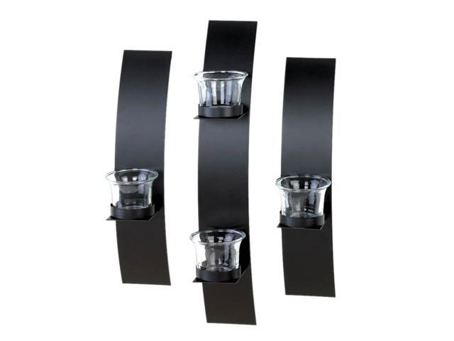 Koehler Home Kitchen Decorative Gift Contemporary Wall Sconce Trio