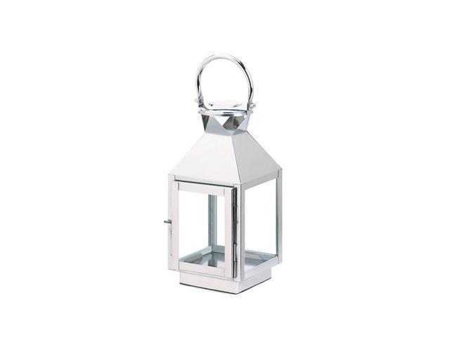 Koehler Home Kitchen Decorative Gift Dapper Stainless Seel Lantern