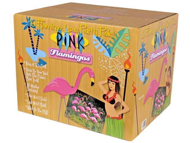 Bloem Patio Lawn Pink Flamingo, 10 Per Pack