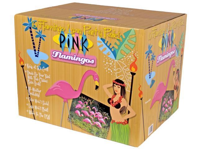 Bloem Patio Lawn Pink Flamingo, 10 Per Pack