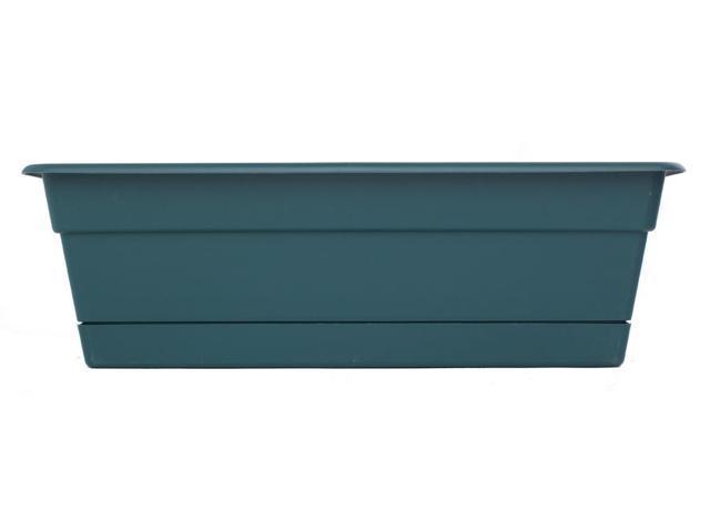 Bloem 18in Dura Cotta Window Box Turbulent - DCBT18-48