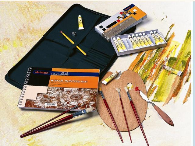 Generic Museum Complete Acrylic Media Art Kit