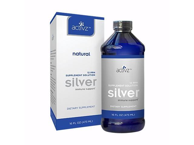 Activz Silver Liquid-16 oz. Bottle Daily Immune Support