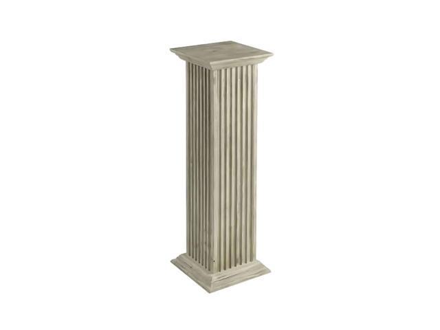 Cooperclassics Home Indoor Hall Decorative Square Fluted Pedestal 1274-6227
