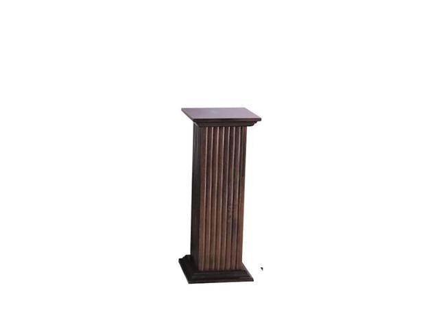 Cooperclassics Home Indoor Hall Decorative Square Fluted Pedestal 1274-409