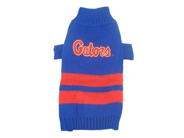 Pets First Florida Gators Dog Sweater Small
