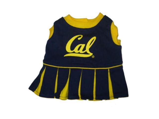 Pets First Sports Team Logo California Berkeley Cheerleader Dog Dress Medium