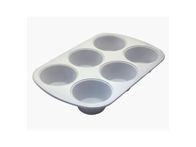 Range Kleen Home Kitchen Bakeware 6 Cup Jumbo Muffin Pan