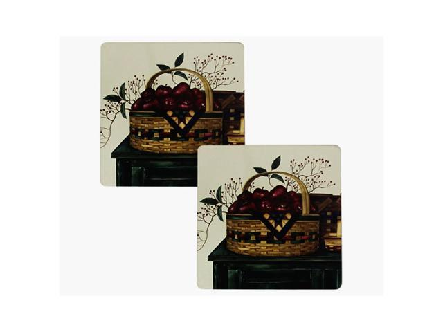 Range kleen kitchen set of 2 hot pad basket design for 7x7 kitchen design