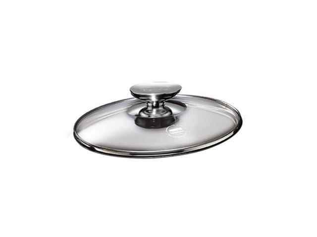 Berndes Home Kitchen Cookware SignoCast Tempered Glass Lid With Stainless Knob 10