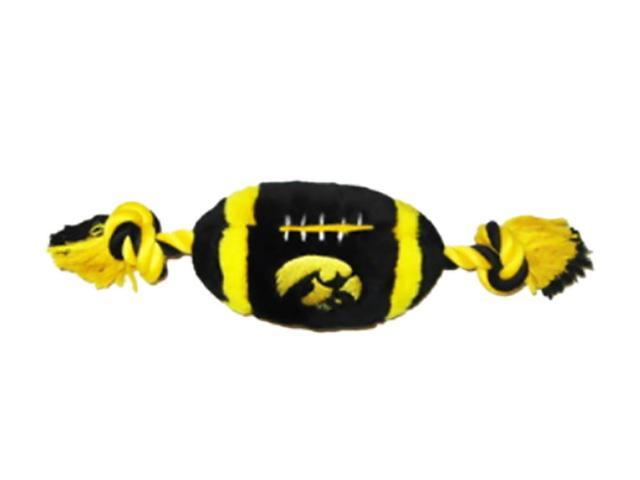 Pets First Sports Team Logo Iowa Hawkeyes Plush Football