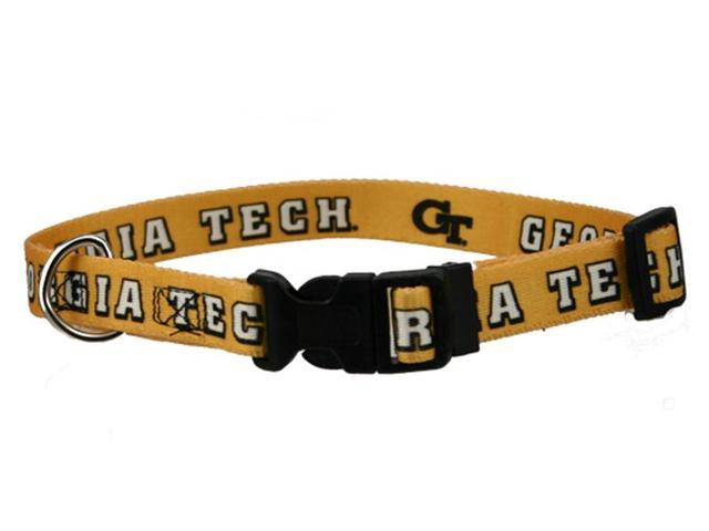 Hunter Sports Team Logo Georgia Tech Dog Collar Medium