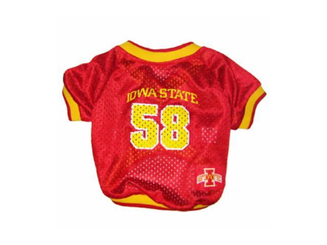 Pets First Sports Team Logo Iowa State Dog Jersey Large