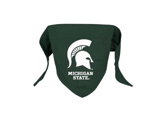 Hunter Sports Team Logo Michigan State Dog Bandana-Mesh Small