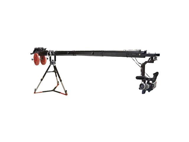 Proaim KITE-22 POPULAR Package (Proaim 22ft Telescopic Camera Jib Crane with Senior Pan-Tilt Head , 150mm Bowl Tripod Stand (LW-150) & D-33 Pro Dolly)