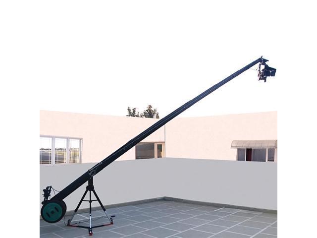 Proaim KITE-22 WONDER Package (Proaim 22ft Octagonal Jib Crane with 150mm Bowl Tripod Stand(LW-150),D-33 dolly & Gold Pan-Tilt Head)
