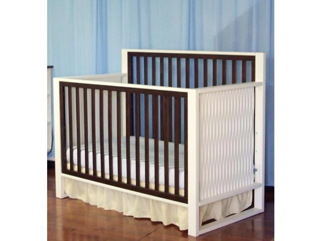 Eden Baby Furniture Infant Toddler Moderno Crib White
