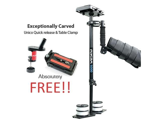 Proaim Flycam 5000 Stabilizer Steadycam With Quick Release Plate and Arm Brace