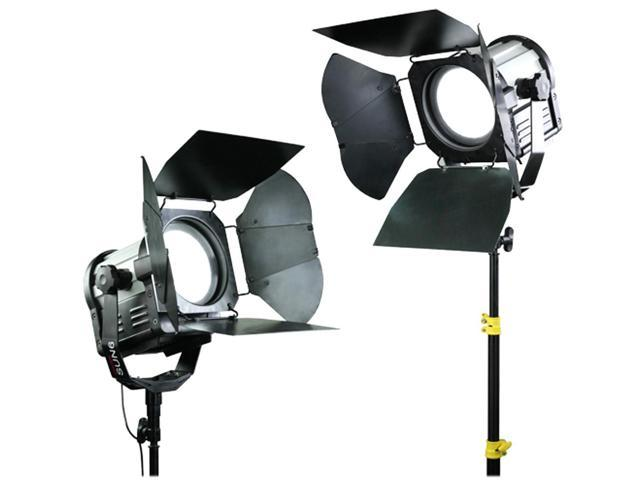 CAMTREE 2pc. SUN 6 Fresnel Light