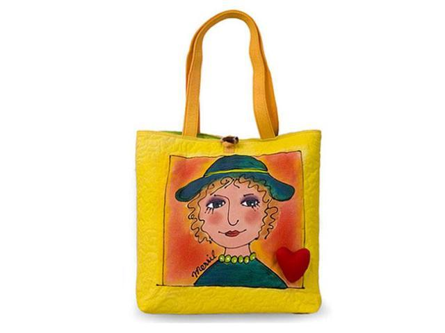 Bright Bags BrightFaces Hat 'n Heart Large Tote Bag