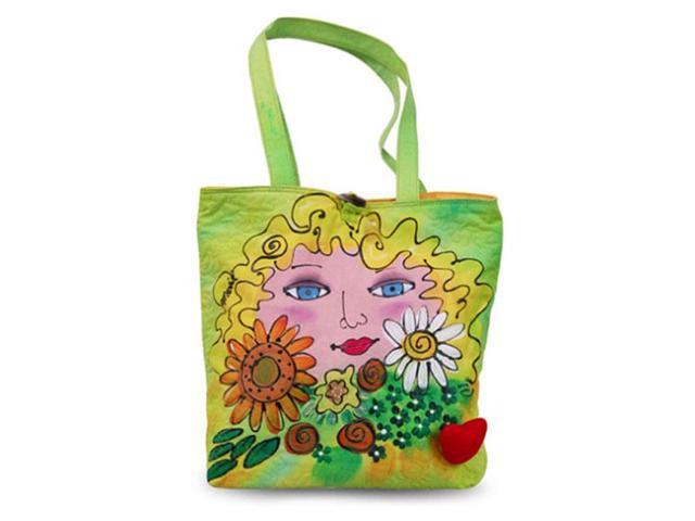 Bright Bags BrightFaces Flowers Large Tote Bag