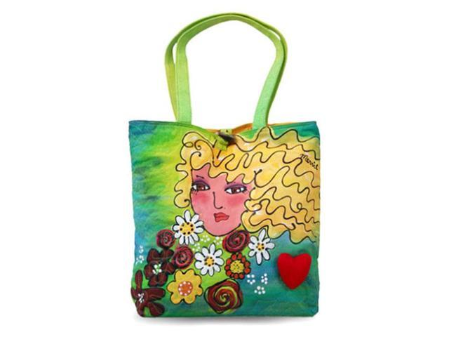 Bright Bags BrightFaces Blond Large Tote Bag