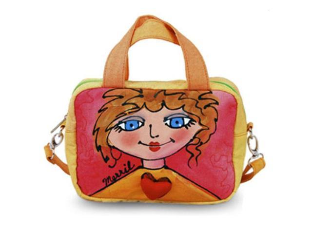 Bright Bags BrightFaces Blue Eyes Small Shoulder Tote Bag