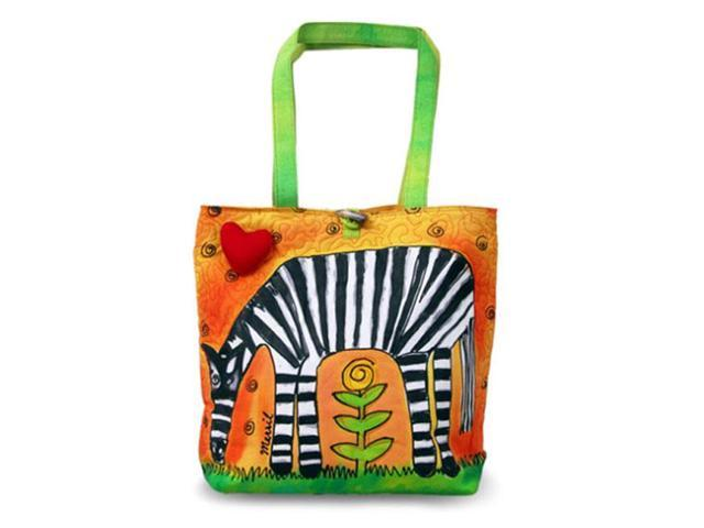 Bright Bags BrightWorld Zebra Large Tote Bag