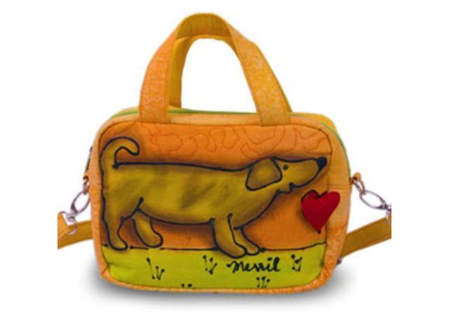Bright Bags BrightWorld Puppy Small Shoulder Tote Bag