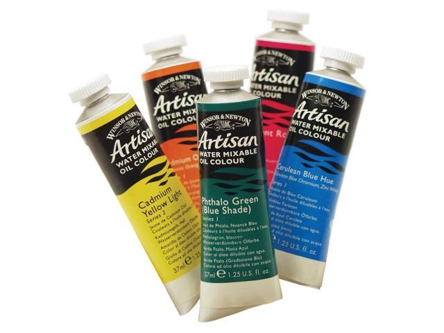 Winsor & Newton Water Mixable Oil Color 37ml Cadmium Yellow Pale Hue