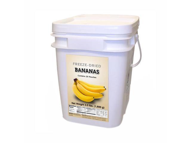 Food For Health International Freeze Dried Bananas 160 Servings