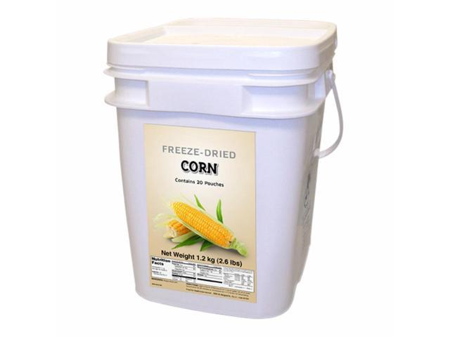Food For Health International Outdoor Travel Emergency Freeze Dried Corn 160 Servings