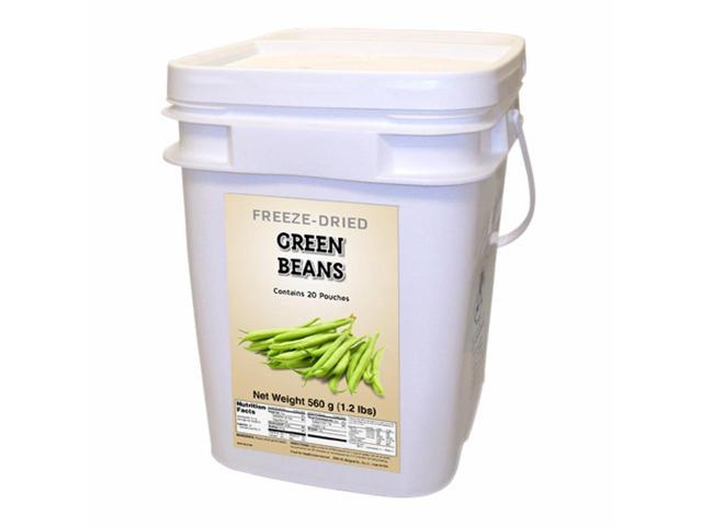 Food For Health International Outdoor Travel Emergency Freeze Dried Green Beans 160 Servings