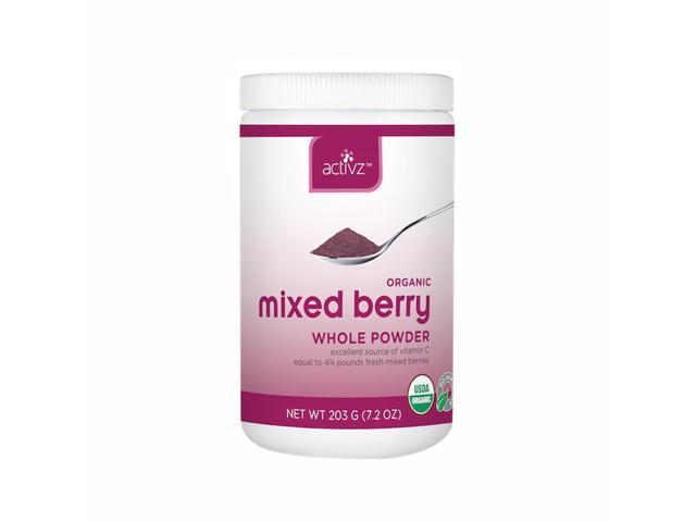 Activz Organic Home Kitchen Outdoor Travel Mixed Berry Powder Small