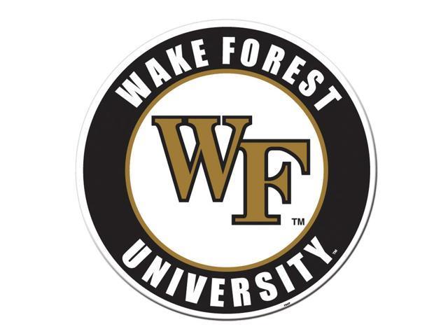 Fremont Die College Sports Team Logo Wake Forest Door Stick Vinyl Magnet