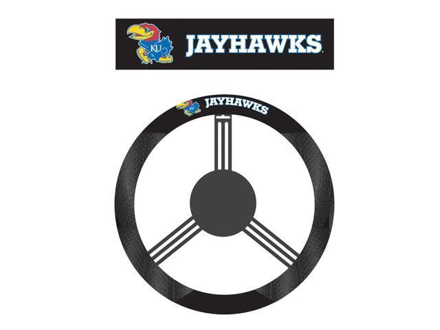 Fremont DieKansas Jayhawks Poly-Suede Steering Wheel Cover