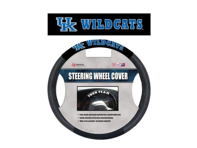 Fremont DieKentucky Wildcats Poly-Suede Steering Wheel Cover