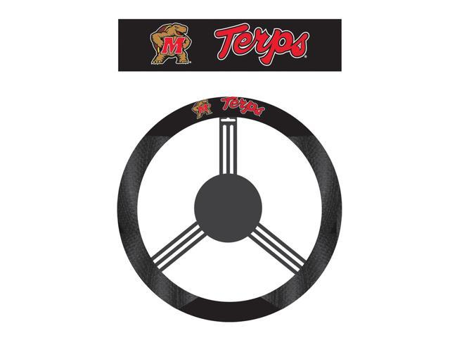 Fremont DieMaryland Terrapins Poly-Suede Steering Wheel Cover