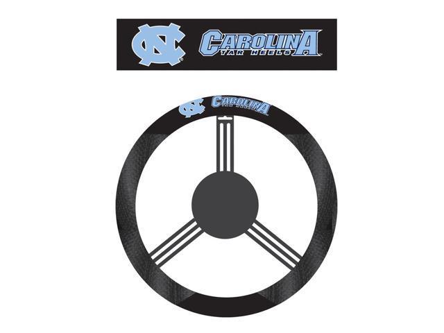 Fremont DieNorth Carolina Tar Heels Poly-Suede Steering Wheel Cover