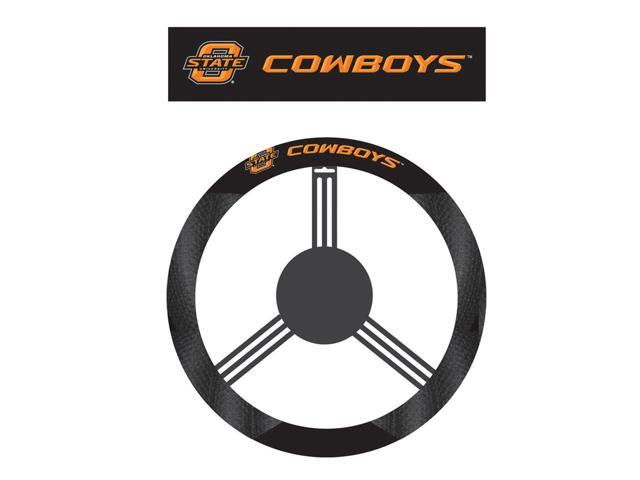 Fremont DieOklahoma State Cowboys Poly-Suede Steering Wheel Cover
