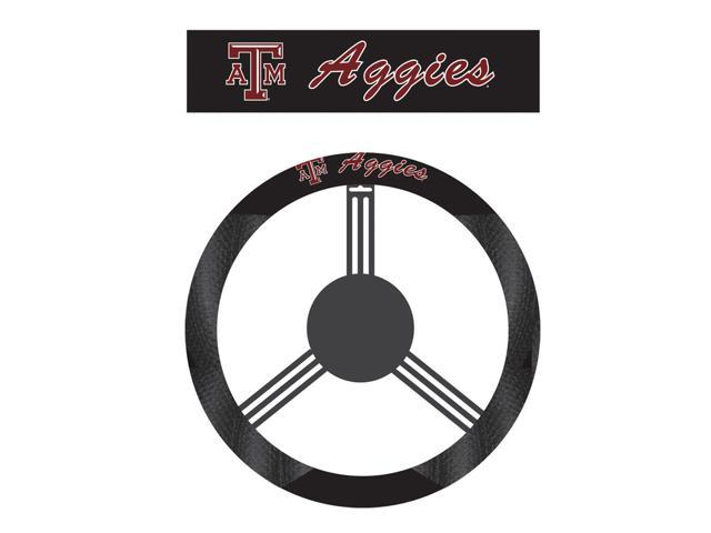 Fremont DieTexas A&M Aggies Poly-Suede Steering Wheel Cover