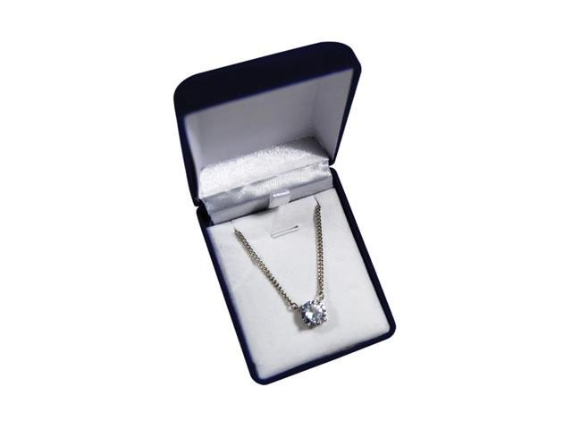Premium Connection Girls Fashion Gift Accessories 5.5 Carat Cz Pendant Boxed