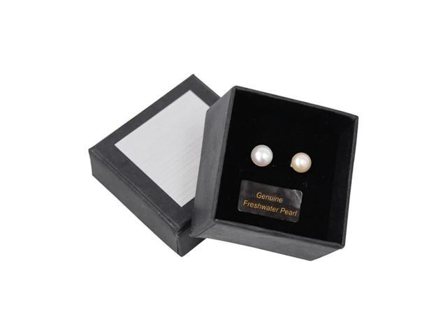 Premium Connection Girls Fashion Gift Accessories Freshwater Pearl Earring Boxed