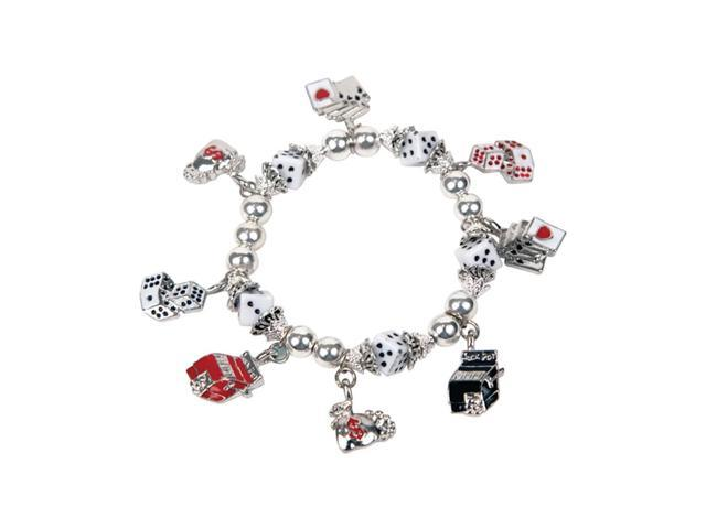Premium Connection Girls Women Fashion Jewelry Gaming Charms Stretch Brace With Pouch