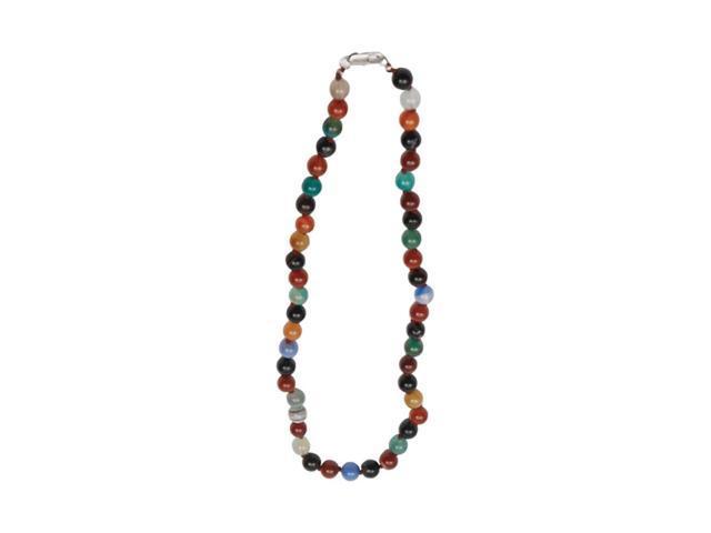 Premium Connection Elegant Agate Bracelet Multicolor Flower Agate Neck
